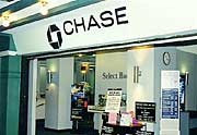Chase Bank in Mall
